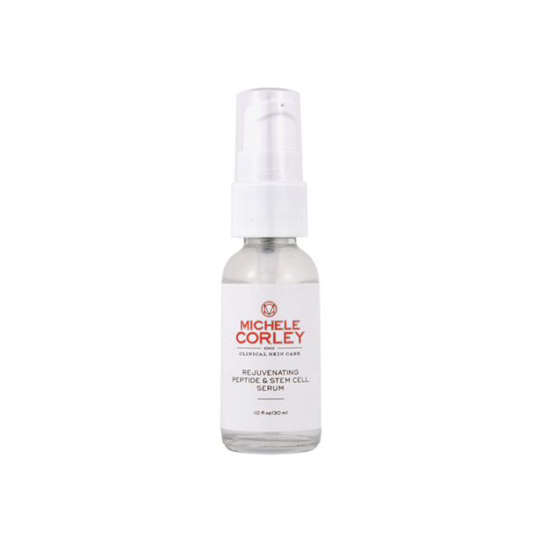 michele corley peptide and stem cell face serum