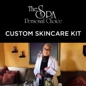 custom skincare kit from an esthetican