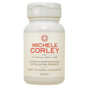 michele corley papaya and pineapple enzyme exfoliating powder