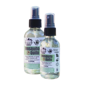 natural mosquito repellant with essential oils