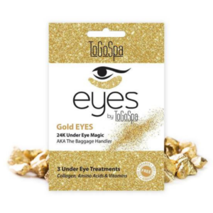 gold eye masks for under eye bags