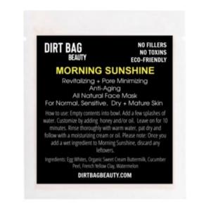 brightening anti-aging mud mask