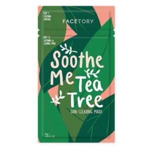 tea tree acne sheet mask